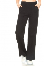 Lune Active |  Flared broek Camilla | black  | Picture 4