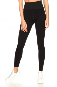 Lune Active |  Rib leggings Luna | black  | Picture 4