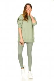 Lune Active |  Rib leggings Luna | green  | Picture 2
