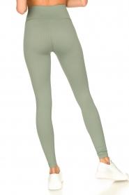 Lune Active |  Rib leggings Luna | green  | Picture 7