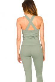 Lune Active |  Bandeau top Pique | green  | Picture 7