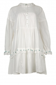Notes Du Nord |  Broderie dress Tenna | white  | Picture 1
