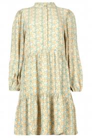 Notes Du Nord |  Floral dress Taylor | blue  | Picture 1