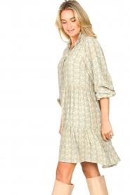 Notes Du Nord |  Floral dress Taylor | blue  | Picture 6
