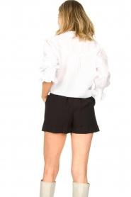 Aaiko |  Tie blouse Sharinda | white  | Picture 6