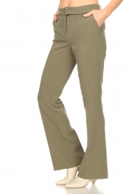 Aaiko |  Flared trousers Flarene | green  | Picture 5
