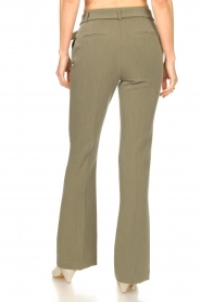 Aaiko |  Flared trousers Flarene | green  | Picture 6