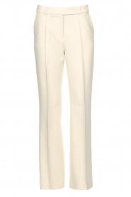 Aaiko | Wijduitlopende pantalon Vantalle | naturel   | Afbeelding 1