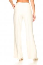 Aaiko | Wijduitlopende pantalon Vantalle | naturel   | Afbeelding 7