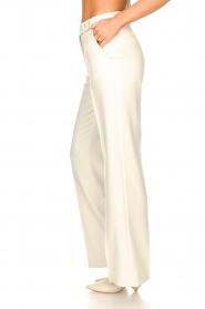 Aaiko | Wijduitlopende pantalon Vantalle | naturel   | Afbeelding 6