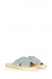 Castaner | Espadrille slippers Palmera | blauw  | Afbeelding 3