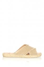 Castaner | Espadrille slippers Palmera | beige  | Afbeelding 1