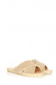 Castaner | Espadrille slippers Palmera | beige  | Afbeelding 4