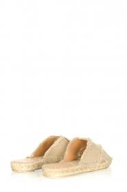 Castaner | Espadrille slippers Palmera | beige  | Afbeelding 5