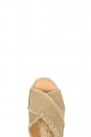 Castaner | Espadrille slippers Palmera | beige  | Afbeelding 6