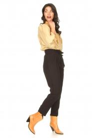 Aaiko |  Pants with drawstring Tanika | black  | Picture 4