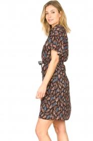 Aaiko |  Dress with paisley print Varsha | black  | Picture 7