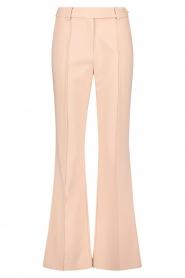 Aaiko | Wijduitlopende pantalon Vantalle | roze  | Afbeelding 1