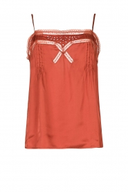 Louizon |  Lace top Balou | pink  | Picture 1