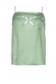 Louizon |  Lace top Balou | green  | Picture 1