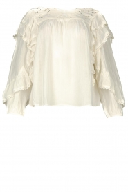Louizon |  Embroidery blouse Dasigny | natural  | Picture 1