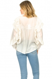 Louizon |  Embroidery blouse Dasigny | natural  | Picture 8