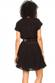 Louizon |  Dress with embroided details Shelter | black  | Picture 7