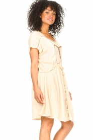 Louizon :  Dress with embroided details Shelter | natural - img5