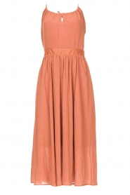 Louizon |  Maxi halter dress Beegees | rusty brown  | Picture 1
