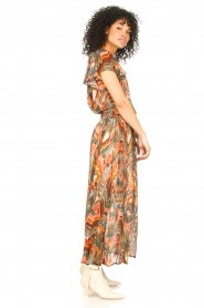 Louizon :  Printed maxi skirt Jesprit | green - img5