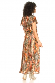Louizon :  Printed maxi skirt Jesprit | green - img6