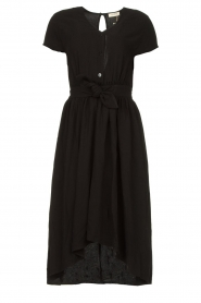 Louizon |  Midi dress Clara | black  | Picture 1