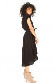 Louizon |  Midi dress Clara | black  | Picture 5
