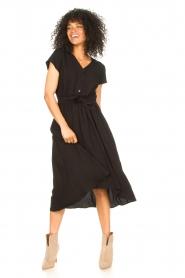 Louizon |  Midi dress Clara | black  | Picture 3