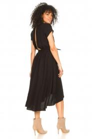 Louizon |  Midi dress Clara | black  | Picture 7