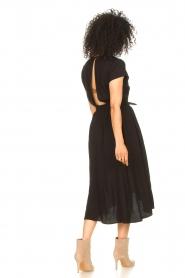Louizon |  Midi dress Clara | black  | Picture 6