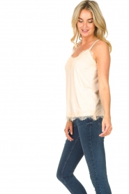 CC Heart |  Top with lace Puck | natural  | Picture 5