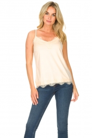 CC Heart |  Top with lace Puck | natural  | Picture 2