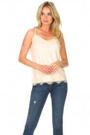CC Heart |  Top with lace Puck | natural  | Picture 4