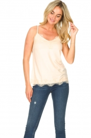 CC Heart |  Top with lace Puck | natural  | Picture 3