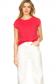 CC Heart |  Cotton mix t-shirt Classic | red  | Picture 2