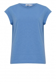 CC Heart |  Cotton mix t-shirt Classic | blue  | Picture 1