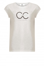 CC Heart |  T-shirt with logo Sem | grey  | Picture 1