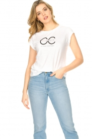 CC Heart |  T-shirt with logo Sem | grey  | Picture 2