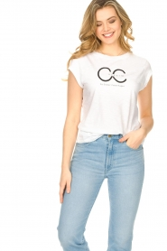CC Heart |  T-shirt with logo Sem | grey  | Picture 4