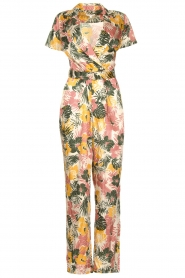 Kocca |  Jumpsuit with leaves print Rakanja | multi  | Picture 1