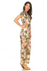 Kocca |  Jumpsuit with leaves print Rakanja | multi  | Picture 5