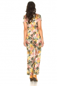 Kocca |  Jumpsuit with leaves print Rakanja | multi  | Picture 6