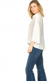 Kocca |  Blouse with wide sleeves | natural  | Picture 6