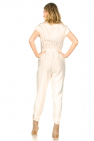 Kocca |  Jumpsuit with tie belt Bikilu | natural  | Picture 6